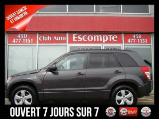 Used 2012 Suzuki Grand Vitara JX 4X4 SUPER BAS KILOMÉTRAGE IMPECCABLE for sale in Terrebonne, QC