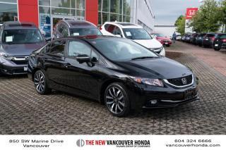 Used 2014 Honda Civic Sedan Touring CVT for sale in Vancouver, BC