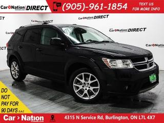 Used 2012 Dodge Journey SXT & Crew|SUNROOF|DVD|PUSH START for sale in Burlington, ON