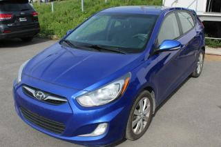 Used 2014 Hyundai Accent HYUNDAI ACCENT HATCHBACK GLS *TOÎT OUVRA for sale in Beauport, QC