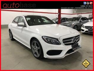 Used 2016 Mercedes-Benz C-Class C300 4MATIC PREMIUM PLUS SPORT LED for sale in Vaughan, ON