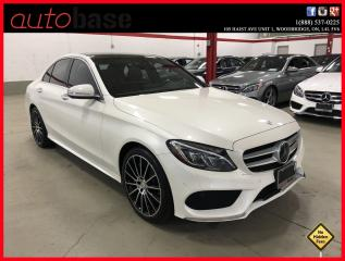 Used 2015 Mercedes-Benz C-Class C400 4MATIC INTELLIGENT DRIVE HUD PREMIUM SPORT for sale in Vaughan, ON