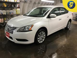 Used 2014 Nissan Sentra SV*PHONE CONNECT*STEERING WHEEL CONTROLS*VOICE RECOGNITION*KEYLESS ENTRY*SPORT/ECO MODE* for sale in Cambridge, ON