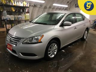 Used 2015 Nissan Sentra SV*BACK UP CAMERA*PHONE CONNECT*HAND FREE CONTROL*VOICE RECOGNITION*FRONT HEATED SEATS*ECONOMY/SPORT MODE* PUSH BUTTON IGNITION* KEYLESS ENTRY*PASSIVE for sale in Cambridge, ON
