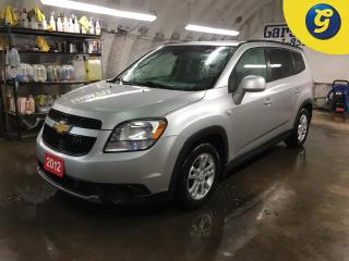 Used 2012 Chevrolet Orlando LT*7 PASSENGER*ONSTAR*HANDS FREE STEERING WHEEL CONTROL/VOICE RECOGNITION*TELESCOPIC STEERING WHEEL*CHILD LOCK WINDOWS*KEYLESS ENTRY* for sale in Cambridge, ON