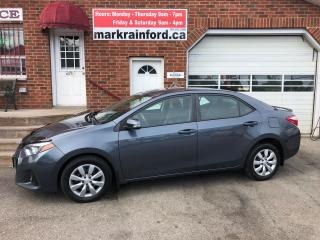 Used 2014 Toyota Corolla S for sale in Bowmanville, ON