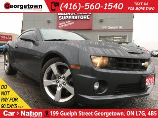 Used 2010 Chevrolet Camaro 2SS | V8 | BREMBO | LEATHER | BOSTON AUDIO | for sale in Georgetown, ON