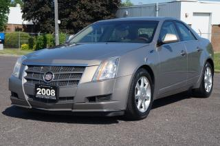 Used 2008 Cadillac CTS 3.6L V6 AWD Navigation *No Accident* for sale in North York, ON