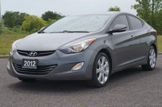 Used 2012 Hyundai Elantra Limited Leather Sunroof Remote Starter for sale in North York, ON