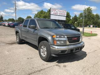 Used 2008 GMC Canyon SLE 4X4 Crew Cab for sale in Komoka, ON