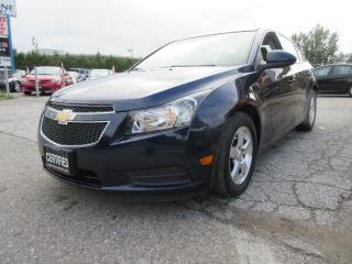 Used 2011 Chevrolet Cruze LT / AUTO / ACCIDENT FREE / 97,614 KMS for sale in Newmarket, ON
