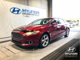 Used 2013 Ford Fusion SE HYBRID + CAMÉRA + MAGS + WOW ! for sale in Drummondville, QC