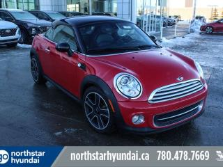 Used 2013 MINI Cooper Coupe COUPE/LEATHER/PUSHSTART/HEATEDSEATS for sale in Edmonton, AB
