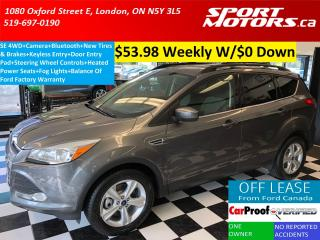 Used 2014 Ford Escape SE 4WD EcoBoost+Camera+Bluetooth+New Tires & Brake for sale in London, ON
