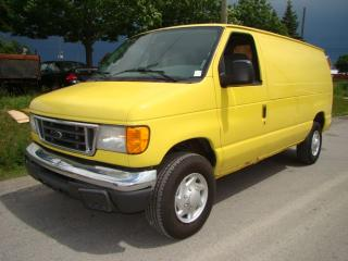 Used 2006 Ford Econoline Cargo Van DIESEL * CERTIFY *  WARRANTY * 416 889 6586 for sale in Woodbridge, ON