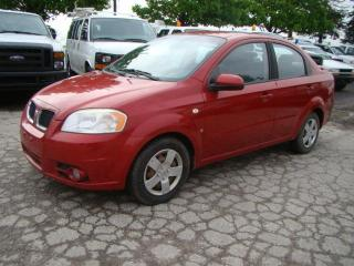 Used 2008 Pontiac Wave 4dr Sdn SE for sale in Woodbridge, ON