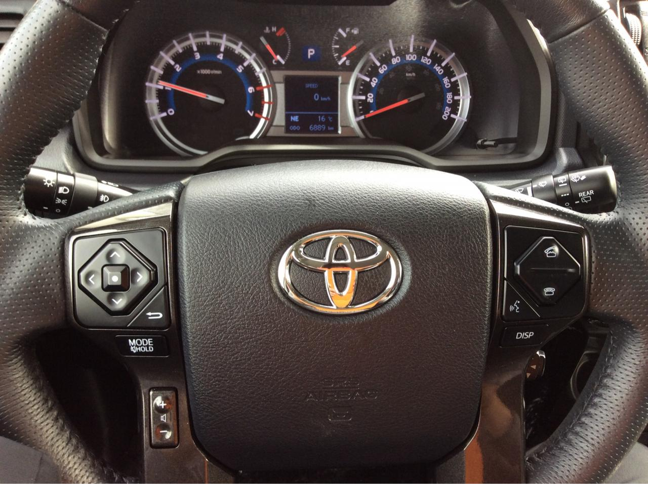 2015 Toyota 4runner Bluenose Motor Co Ltd Verso Interior