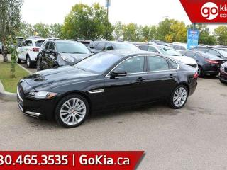 Used 2018 Jaguar XF WOW! ALMOST BRAND NEW! AWD LOADED! for sale in Edmonton, AB