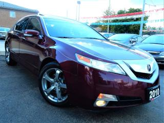 Used 2010 Acura TL SH-AWD | NAVIGATION.CAMERA | LEATHER.ROOF | 121KM for sale in Kitchener, ON