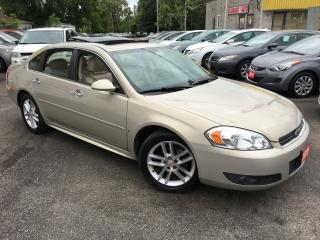 Used 2009 Chevrolet Impala LTZ/ LEATHER/ SUNROOF/ ALLOYS/ LIKE NEW! for sale in Scarborough, ON