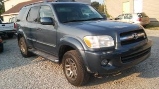 Used 2006 Toyota Sequoia Limited for sale in Windsor, ON