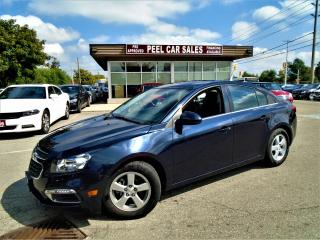 Used 2015 Chevrolet Cruze 2015 CHEVY CRUZE2LT|LEATHER|ROOF|REARVIEW|59K for sale in Mississauga, ON