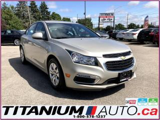 Used 2015 Chevrolet Cruze LT-Camera-My Link-Remote Start-BlueTooth-ECO-XM- for sale in London, ON