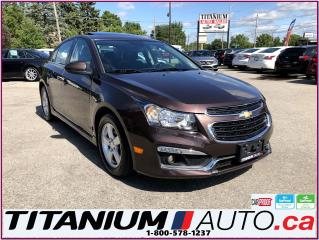 Used 2015 Chevrolet Cruze LT-RS-Camera-Sunroof-Remote Start-Fog Lights-XM- for sale in London, ON