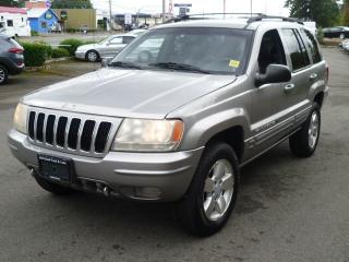 Used 2001 Jeep Grand Cherokee Limited for sale in Parksville, BC