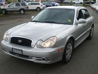 Used 2004 Hyundai Sonata GL for sale in Parksville, BC