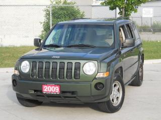 Used 2009 Jeep Patriot 4x4, Auto, Only 145000km,3/YWarranty avaiabl. for sale in Toronto, ON