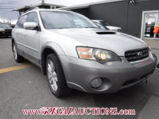 Used 2005 Subaru Outback X7 4D Wagon AWD for sale in Calgary, AB