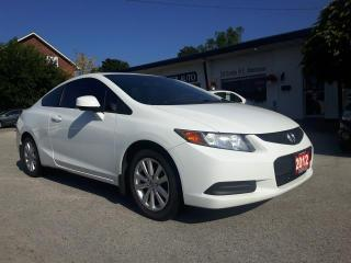 Used 2012 Honda Civic EX COUPE 5-SPEED for sale in Waterdown, ON