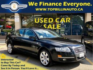 Used 2008 Audi A6 3.2 Navi, Backup Cam, Roof, Leather for sale in Vaughan, ON