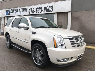 Used 2011 Cadillac Escalade NAVIGATION-DVD for sale in Toronto, ON