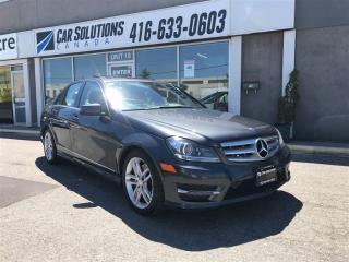 Used 2013 Mercedes-Benz C-Class SOLD for sale in Toronto, ON