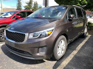 Used 2018 Kia Sedona LX+ BACKUP/POWER DOORS/LIFTGATE for sale in Waterloo, ON