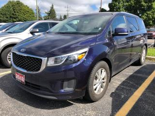 Used 2018 Kia Sedona LX+ POWER DOORS/HATCH/CAMERA for sale in Waterloo, ON