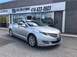 Used 2014 Lincoln MKZ Hybrid-Navi-leather-Snroof for sale in Toronto, ON