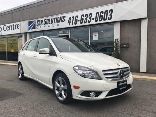 Used 2014 Mercedes-Benz B-Class 250-PANO SNROOF-LEATHER for sale in Toronto, ON