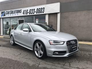 Used 2014 Audi S4 SOLD for sale in Toronto, ON