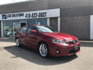 Used 2012 Lexus CT 200h LEATHER-SUN ROOF for sale in Toronto, ON