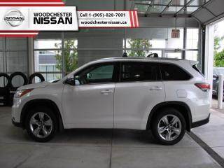 Used 2016 Toyota Highlander Limited  - $267.17 B/W for sale in Mississauga, ON
