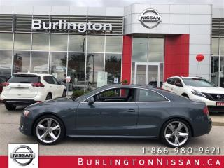 Used 2011 Audi A5 2.0L Premium Plus for sale in Burlington, ON