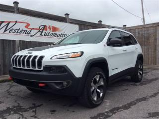 Used 2016 Jeep Cherokee Trailhawk for sale in Stittsville, ON