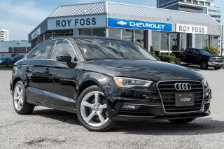 Used 2015 Audi A3 1.8T Komfort Heated Seats Leather for sale in Thornhill, ON