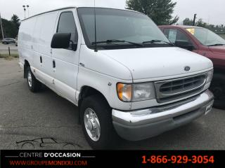 Used 2001 Ford E250 E-250 Super for sale in St-georges-de-champlain, QC