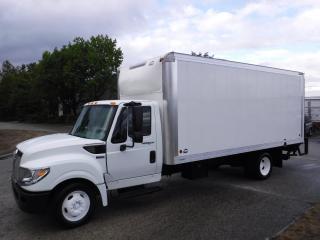 Used 2014 International TerraStar Cube Van 18 Feet Diesel 3 passenger Power Tailgate for sale in Burnaby, BC