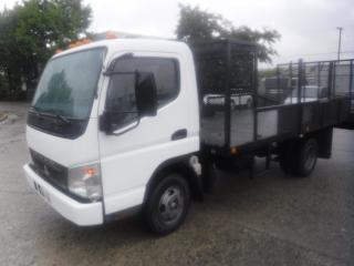 Used 2007 Mitsubishi Fuso Fe 140 Fe84d Flat Deck 14 foot  Diesel 3 Passenger for sale in Burnaby, BC