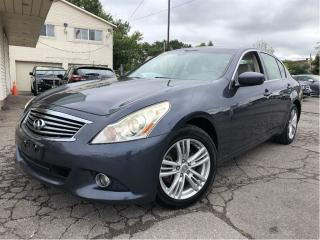 Used 2011 Infiniti G37 X Luxury AWD LEATHER NAVIGATION for sale in St Catharines, ON